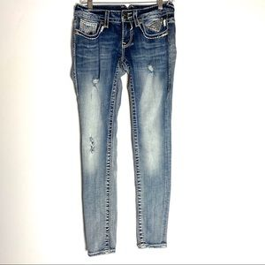 "Vigoss The Chelsea Skinny Jeans Size 25"""